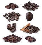 Fototapety Coffee bean isolated on white background