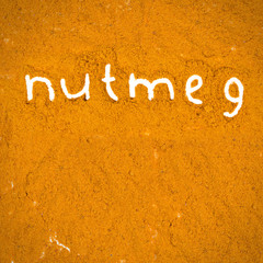 Nutmeg abstract
