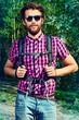 forest hiker