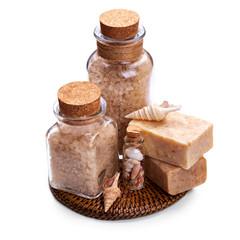 Soap with sea salt
