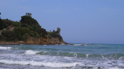 Beach resort in Sicily, Italy