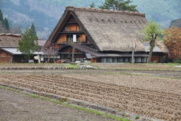 Japanese countryside - Shirakawa-go