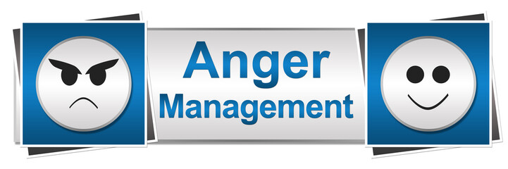 Anger Management Two Button Style