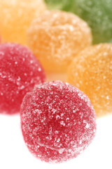 Testy jelly candies close up