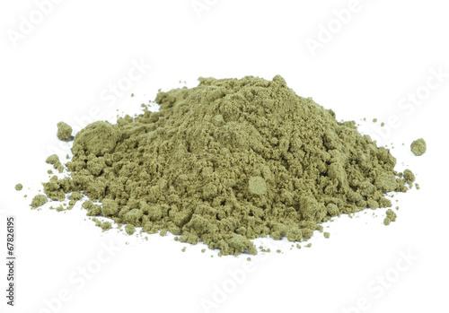 Tuinposter Kruidenierswinkel Organic hemp protein powder