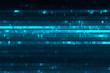 Abstract data stream matrix background