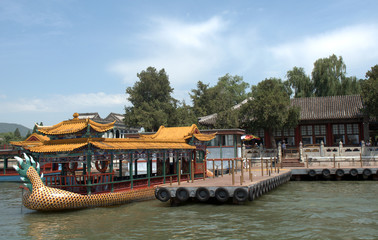 Kunming Lake in the Summer Palace, Beijing, China