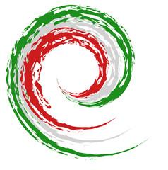 Italienische Nationalfarben, Logo