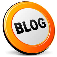 Vector blog icon