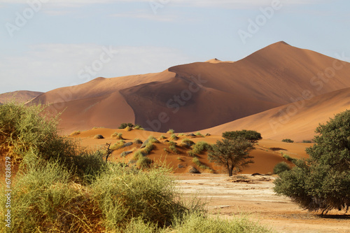 Zdjęcia na płótnie, fototapety, obrazy : Dünenlandschaft, Sossulvlei, Namibia