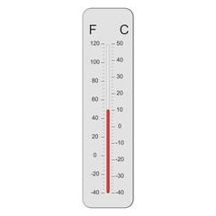 tien graden celsius boven nul