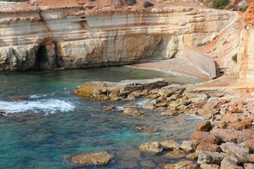 Cyprus coast near Paphos