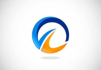 business-circle-abstract-vector-logo