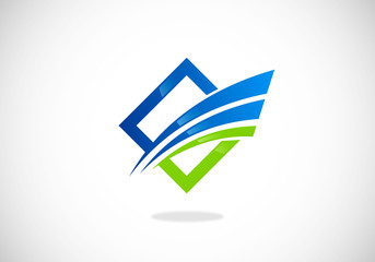 finance-growth-monetary-concept-logo