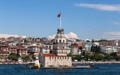 Bosphorus Lighthouse in Istanbul, Turkey