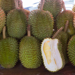 Durian, tropical fruit in Thailand