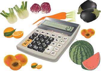 spesa della verdura e frutta