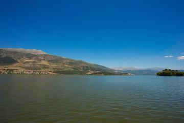 The Ioannina (Greece) lake