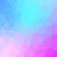 blue-pink background with triagles