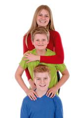 Gruppe Teenager/Kinder