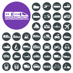 Transport Icons set.
