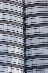 textured background of modern glass building