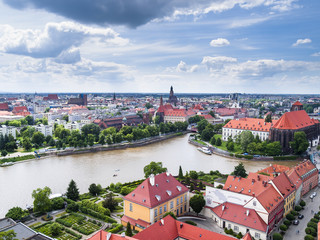 View of Wroclaw