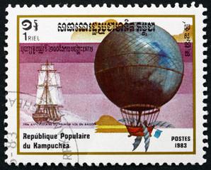 Blanchard and Jeffries, Hot Air Balloon
