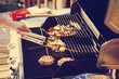 canvas print picture - Grill