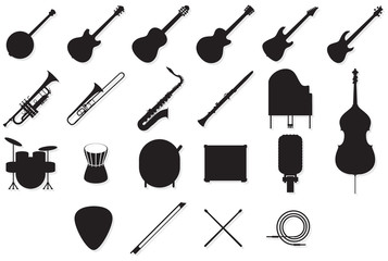 Instruments outlines set