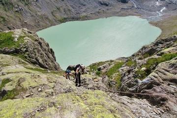Gletschersee am Triftgletscher
