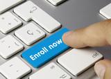 Enroll now. Keyboard