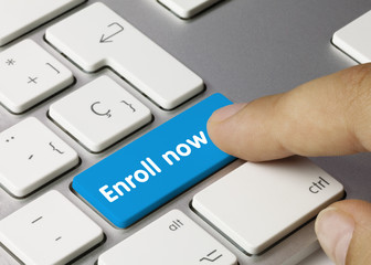 Enroll now. Keyboard