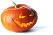 canvas print picture - Scary Halloween Pumpkin