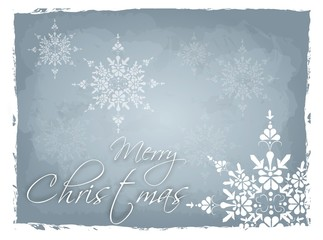 Light blue Merry Christmas background