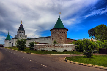 old Russian monastery fortress