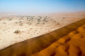 Trek dans la vallée de la Tsauchab en Namibie