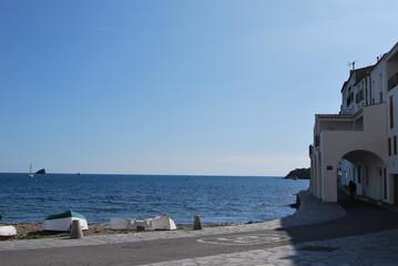 Paseo martítimo mediterráneo