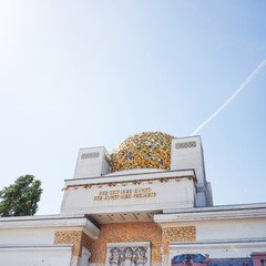 Vienna Secession Building was formed in 1897