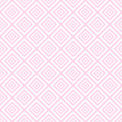 Light summer vector seamless pattern (tiling). Fond pink, white