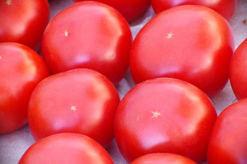 red tomatoes fruits vegetables