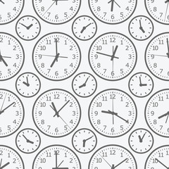 clock seamless pattern. The electronic device.