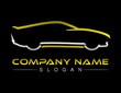 Car logotype Black B