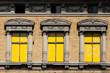 canvas print picture - Abriss alter Industriegebäude in Quedlinburg