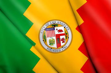 Flag of Los Angeles (USA)