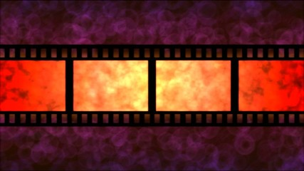 Movie Film Particle Background Animation - Loop Red