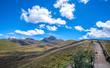 Beautiful scene of the Ecuadorian Andes