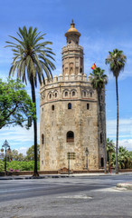 Torre del Oro in Seville, Spain