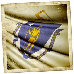 Flag of Massachusetts (USA)
