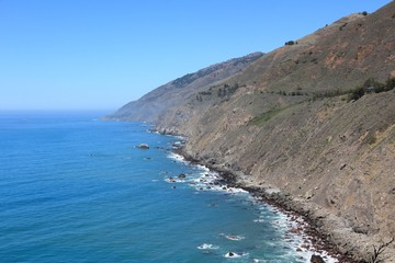California - Ragged Point in Big Sur